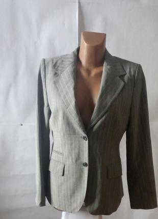 Классика! женский пиджак в полоску от massimo dutti!