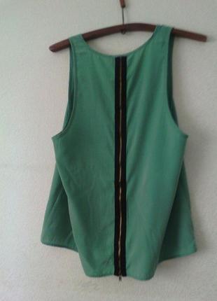 Блуза с замком на спинке2