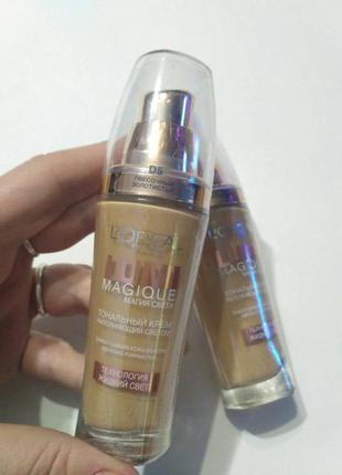 Тональный крем loreal lumi magique магия света