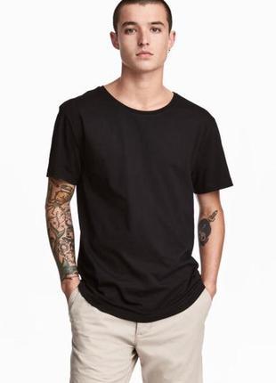 Хлопковая футболка h&m