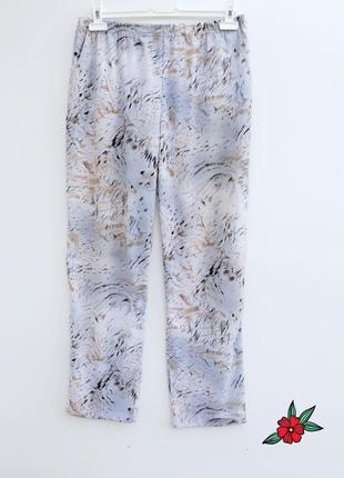 Легкие нежные брюки штаны повседневные штанишки на резинке