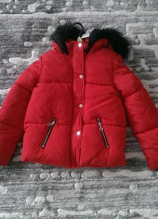 Фірмові куртки для дівчат f&f