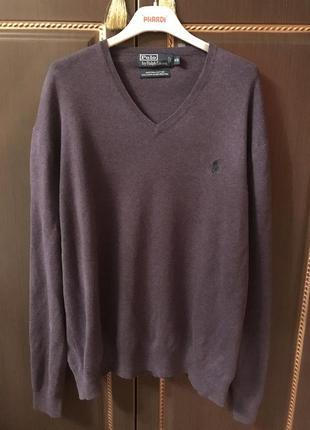 Очень красивый свитер ralph lauren оригинал