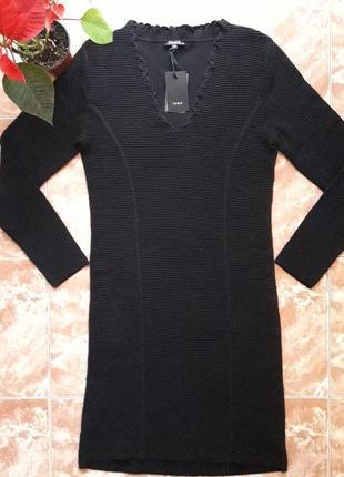 Платье  yuka из плотного трикотажа,миди, l и xl.