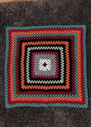Коврики коврик ручной вязки работы кручком
