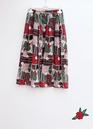 Ексклюзивная юбка миди красивая стильная юбка миди на резинке