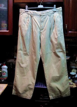Хлопковые плотные брюки баталы (оригинал) обхват пояса 102 см.4