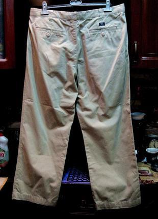 Хлопковые плотные брюки баталы (оригинал) обхват пояса 102 см.3