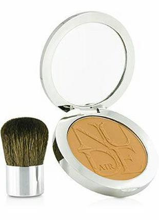Пудра christian dior diorskin nude air tan powder 002 с кистью кабуки оригинал
