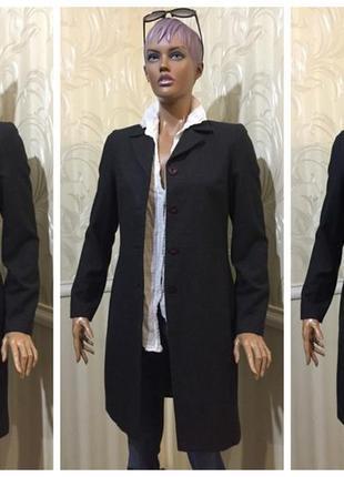 Демисезонное пальто - 100% шерсть, day birger et mikkelsen (дания), размер 38/м