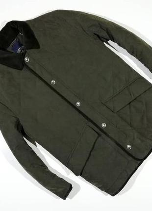Мужская куртка стеганка quattro
