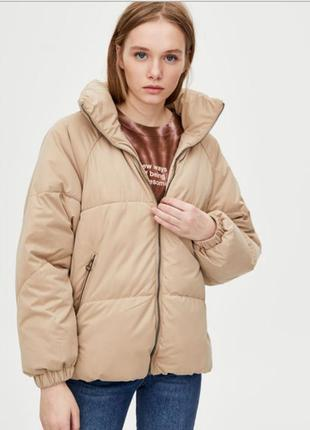 Куртка дутая puffer pull and bear размер xs s m l