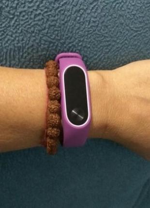 Ремешок фитнес-браслет xiaomi mi band 2 фиолетовый