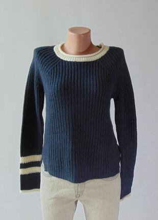 Вязаный свитер с разрезами tally weijl с