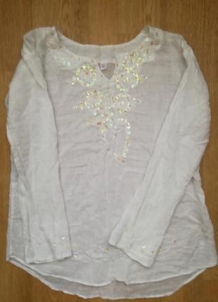 Пляжная рубашка туника