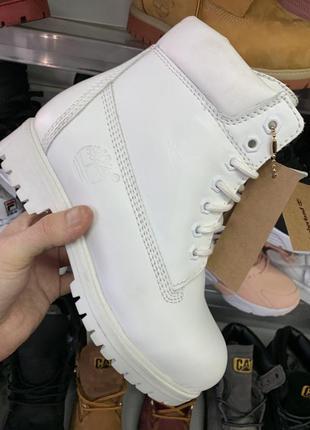 Шикарные ботинки timberland white натуральные! отличное качество! 54d1a0cff6842