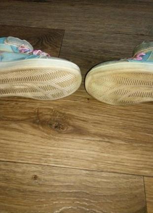 Хайтопы кроссовки высокие эльза/холодное сердце5