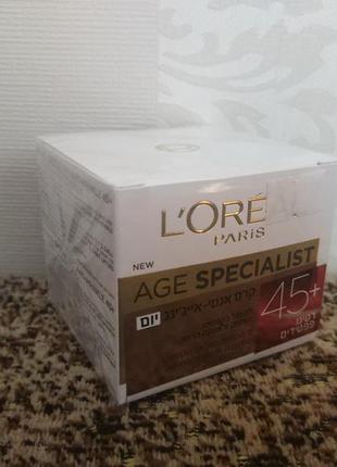 Loreal age specialist 45 крем