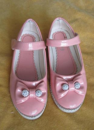 Туфли, туфельки, девочке, нарядные