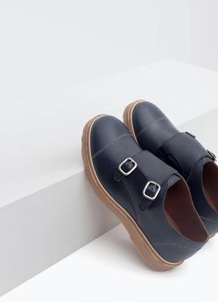 Распродажа.кожаные туфли zara boys,зара