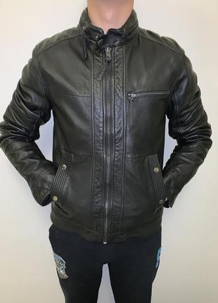Кожаная куртка оригинал tom tailor