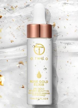 Розовое золото эликсир питательное масло антистарение