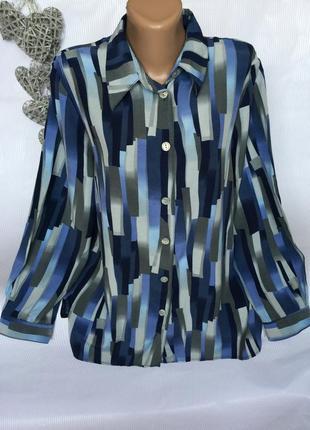 Красивая рубашка biaggini вискоза 100%
