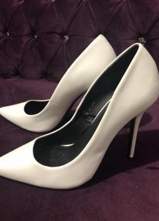 Свадебные туфли, белые туфли, туфли на свадьбу 39 размер. 0507090787