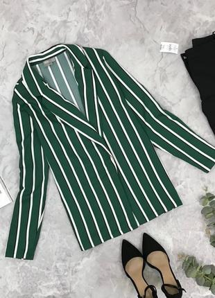 Стильный пиджак в полоску jc1904059 asos
