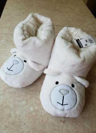Тапочки-игрушки медведи in extenso р.40