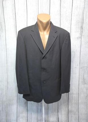 Пиджак стильный boss ermergildio zegna, м (пог - 56 см), шерсть, как новый!
