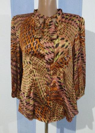 Стильна приталена блуза
