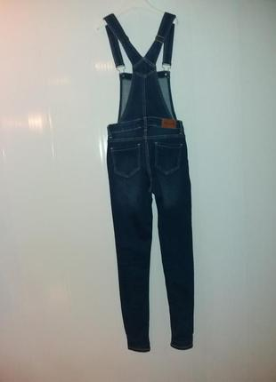 Комбинезон джинсовий на девочку подростка.11-12лет2