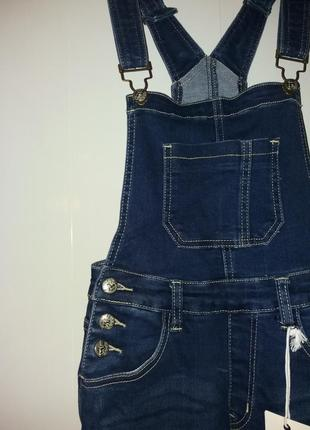 Комбинезон джинсовий на девочку подростка.11-12лет4