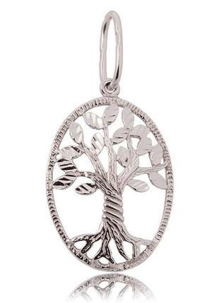 "Серебряный кулон ""дерево жизни"""