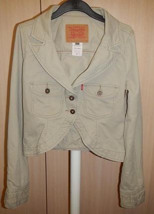 Куртка пиджак жакет levis p.s