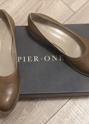 Классические туфли на низком ходу pier one