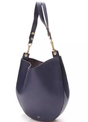 Кожаная сумка французского бренда celine