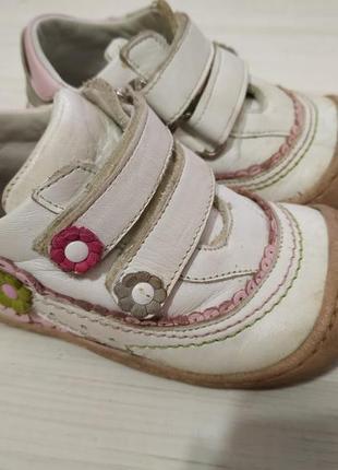 Кожаные ортопедические кроссовки kemal pafi