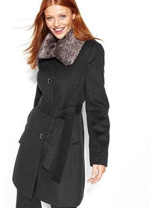 Пальто под пояс calvin klein (оригинал), s-m