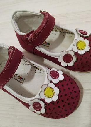 Small foot качественные замшевые туфельки,  кожаные , ортопедические