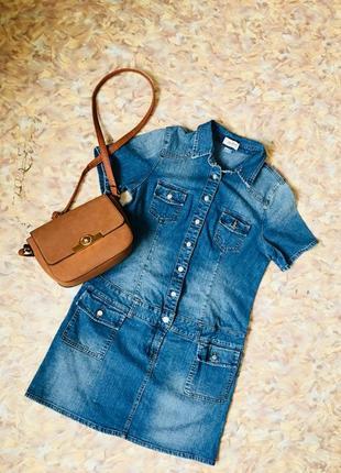 Платье джинсовое john baner uk14