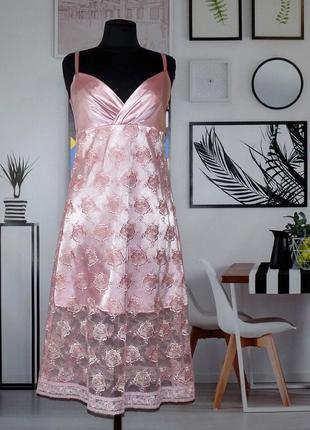 Платье из японского кружева