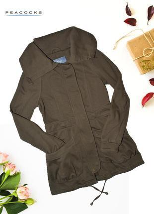 Хлопковая куртка с карманами e-vie by peacocks