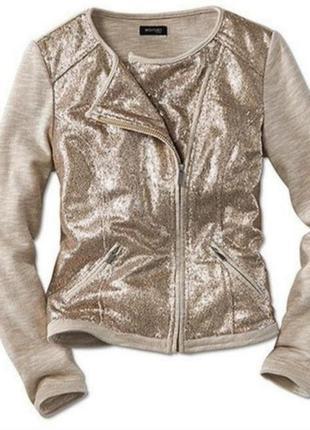 Куртка - пиджак с пайетками от бренда tcm tchibo германия