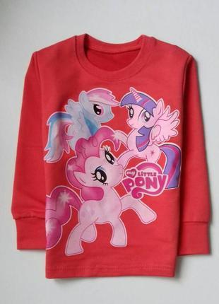 Яскравий світшот pony на 3-4 роки