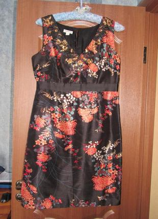 Роскошное платье футляр миди от moonsoon р.16 xxl. заходите и выбирайте!
