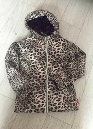 Куртка легкий пуховик 4-6 лет