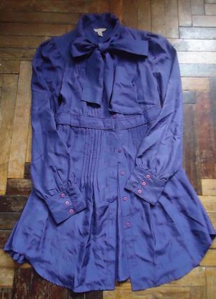 Винтажная блуза платье туника