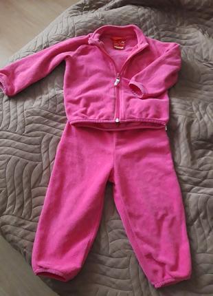 Комплект / костюм флисовый reima etamin/86 размер